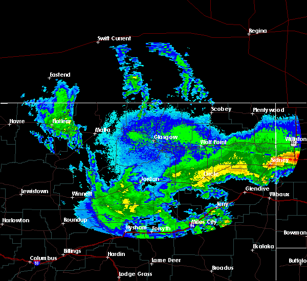 Radar Image for Severe Thunderstorms near Alexander, ND at 9/17/2019 9:12 PM CDT