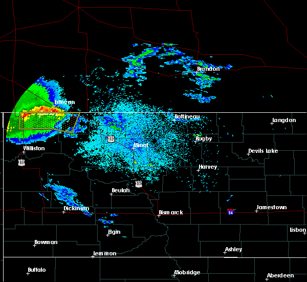Radar Image for Severe Thunderstorms near Noonan, ND at 9/17/2019 11:24 PM CDT