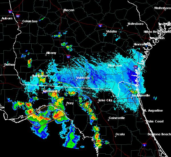 Radar Image for Severe Thunderstorms near Branford, FL at 9/18/2019 6:20 PM EDT