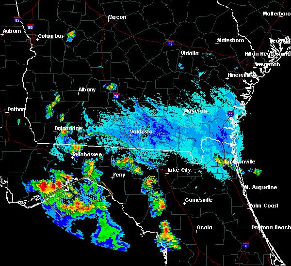Radar Image for Severe Thunderstorms near Branford, FL at 9/18/2019 6:45 PM EDT