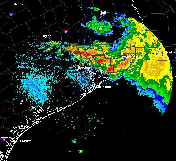 Radar Image for Severe Thunderstorms near Winnie, TX at 9/19/2019 6:44 AM CDT
