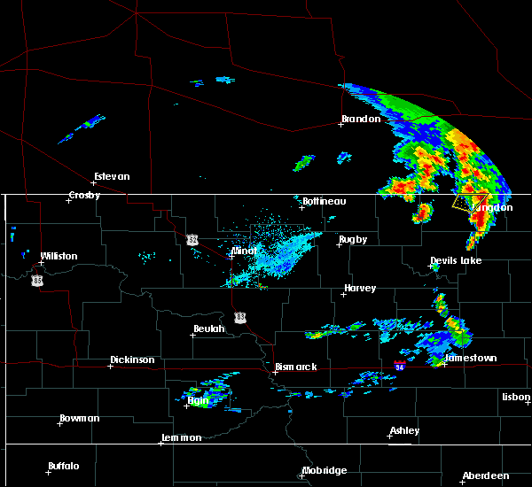 Radar Image for Severe Thunderstorms near Wales, ND at 9/20/2019 8:35 AM CDT