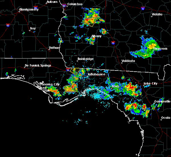 Radar Image for Severe Thunderstorms near Quincy, FL at 6/23/2015 1:55 PM EDT