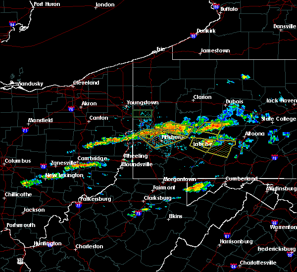 Radar Image for Severe Thunderstorms near Armagh, PA at 6/23/2015 1:59 PM EDT