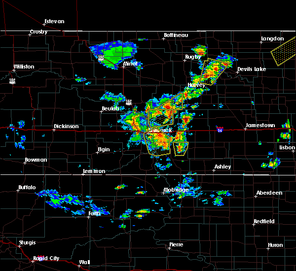 Radar Image for Severe Thunderstorms near Wing, ND at 9/20/2019 5:20 PM CDT