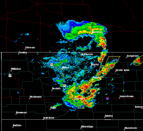 Radar Image for Severe Thunderstorms near Brinsmade, ND at 9/20/2019 5:35 PM CDT