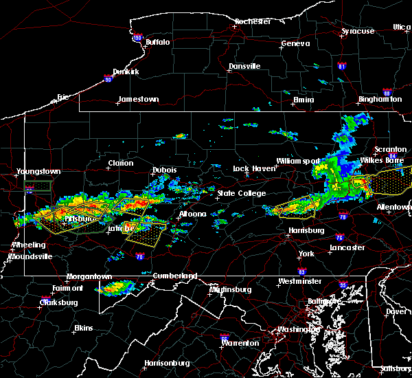 Radar Image for Severe Thunderstorms near Edgewood, PA at 6/23/2015 2:08 PM EDT
