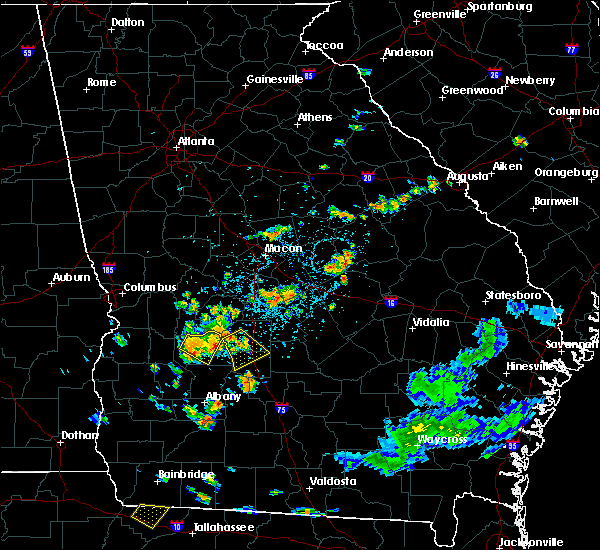 Radar Image for Severe Thunderstorms near Vienna, GA at 6/23/2015 2:11 PM EDT