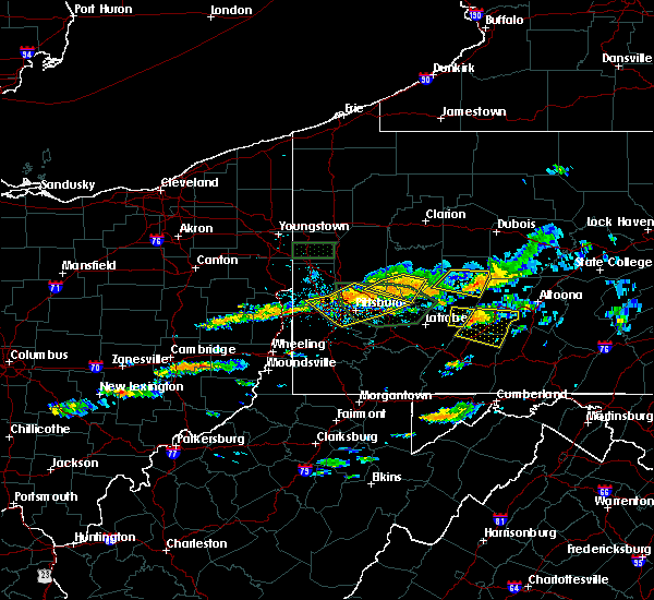 Radar Image for Severe Thunderstorms near Armagh, PA at 6/23/2015 2:14 PM EDT
