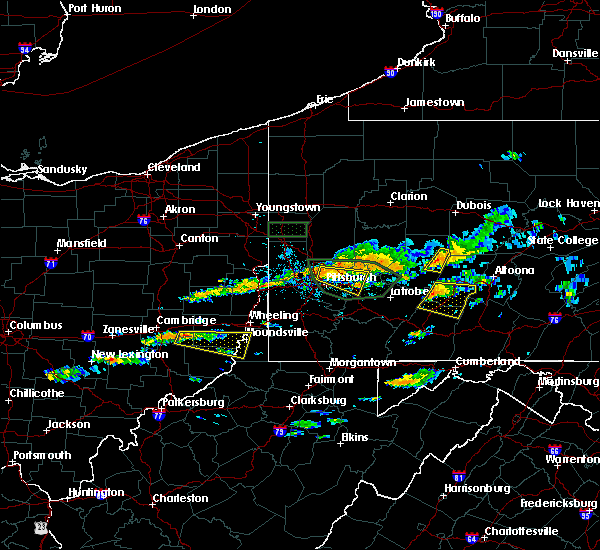 Radar Image for Severe Thunderstorms near Harwick, PA at 6/23/2015 2:19 PM EDT