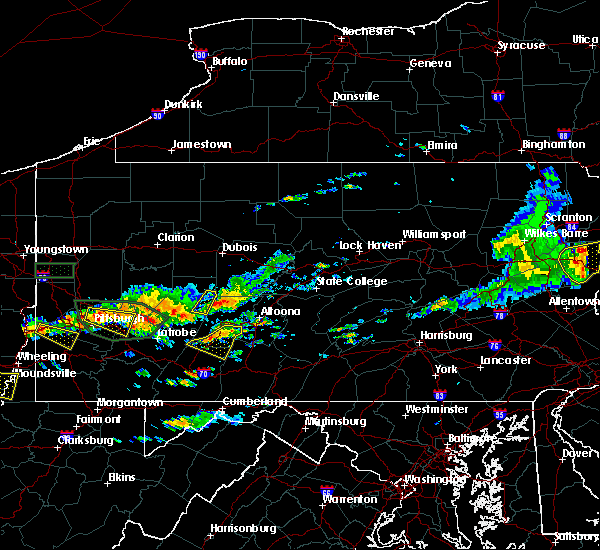 Radar Image for Severe Thunderstorms near Dunlo, PA at 6/23/2015 2:25 PM EDT