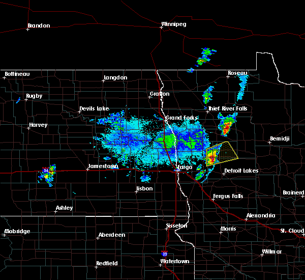 Radar Image for Severe Thunderstorms near Twin Lakes, MN at 9/21/2019 6:25 PM CDT
