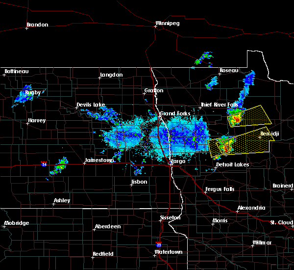 Radar Image for Severe Thunderstorms near Twin Lakes, MN at 9/21/2019 6:56 PM CDT