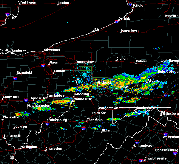 Radar Image for Severe Thunderstorms near Edgewood, PA at 6/23/2015 2:40 PM EDT