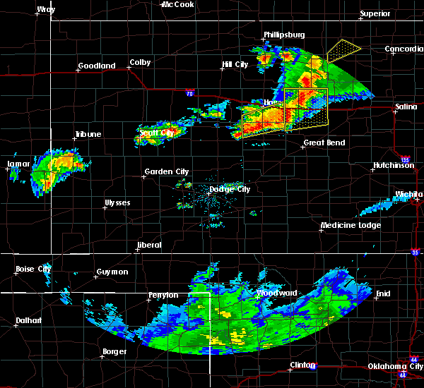 Radar Image for Severe Thunderstorms near Victoria, KS at 9/21/2019 8:13 PM CDT