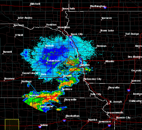 Radar Image for Severe Thunderstorms near Nickerson, NE at 9/21/2019 8:54 PM CDT