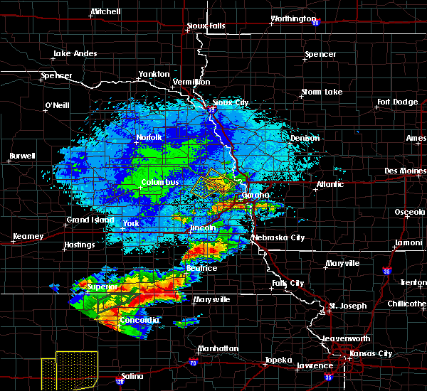 Radar Image for Severe Thunderstorms near Washington, NE at 9/21/2019 9:03 PM CDT