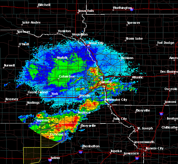 Radar Image for Severe Thunderstorms near Blair, NE at 9/21/2019 9:25 PM CDT