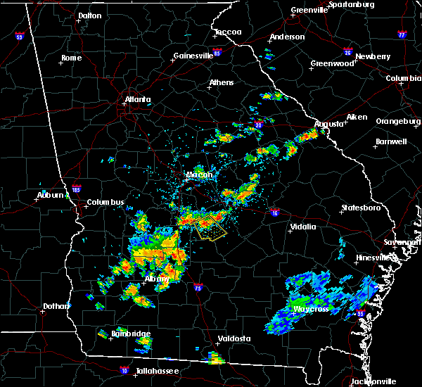Radar Image for Severe Thunderstorms near Eastman, GA at 6/23/2015 2:47 PM EDT
