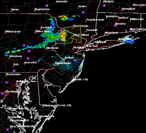 Radar Image for Severe Thunderstorms near Kenvil, NJ at 6/23/2015 2:57 PM EDT