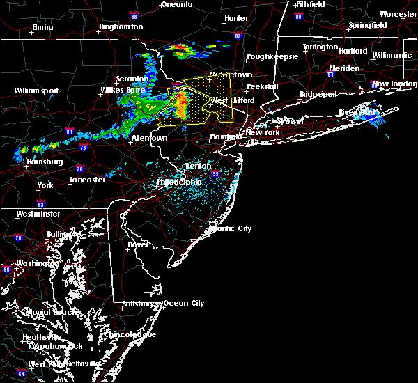 Radar Image for Severe Thunderstorms near Dover, NJ at 6/23/2015 2:57 PM EDT