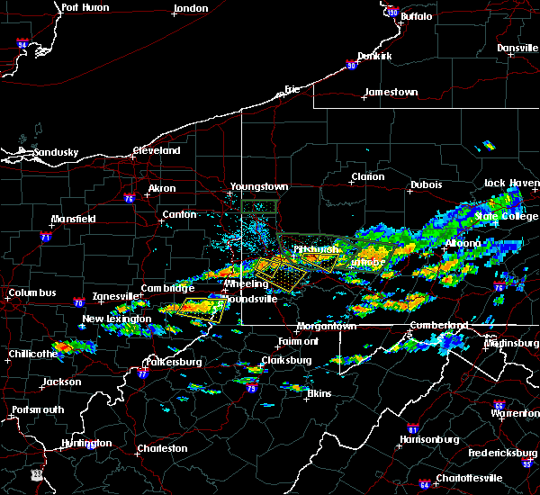 Radar Image for Severe Thunderstorms near Youngstown, PA at 6/23/2015 2:58 PM EDT