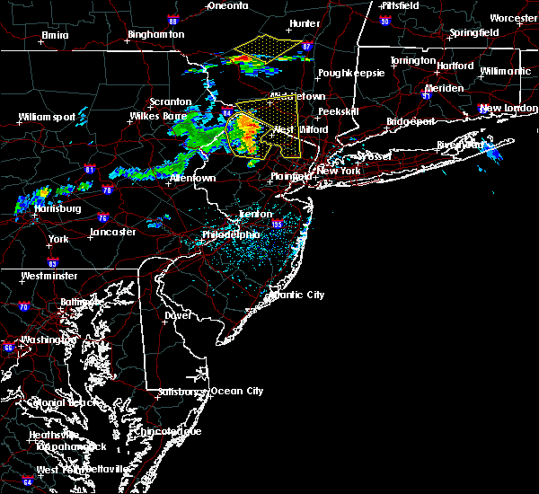 Radar Image for Severe Thunderstorms near Paterson, NJ at 6/23/2015 3:07 PM EDT