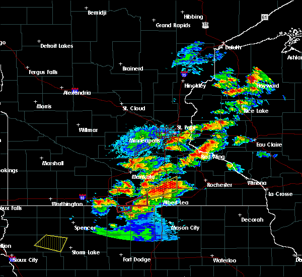 Radar Image for Severe Thunderstorms near Warsaw, MN at 9/24/2019 7:06 PM CDT