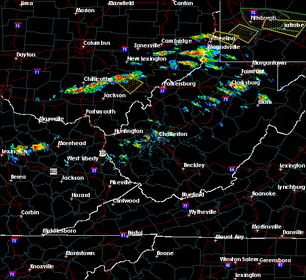 Radar Image for Severe Thunderstorms near Albany, OH at 6/23/2015 3:10 PM EDT