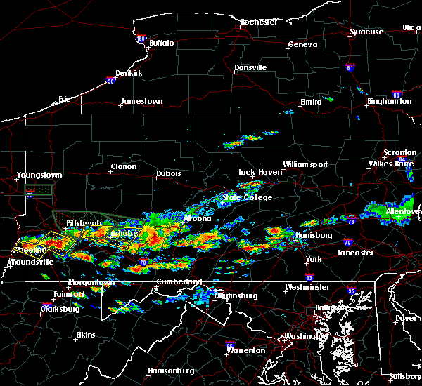 Radar Image for Severe Thunderstorms near Shade Gap, PA at 6/23/2015 3:11 PM EDT