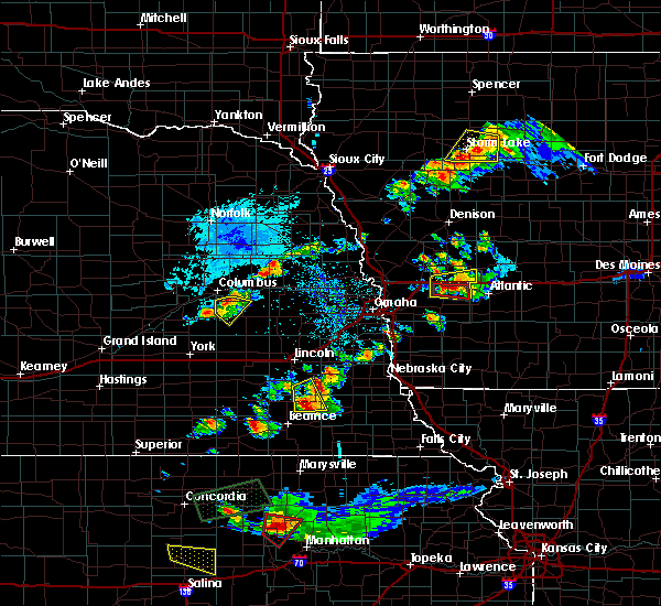 Radar Image for Severe Thunderstorms near Firth, NE at 9/24/2019 7:52 PM CDT
