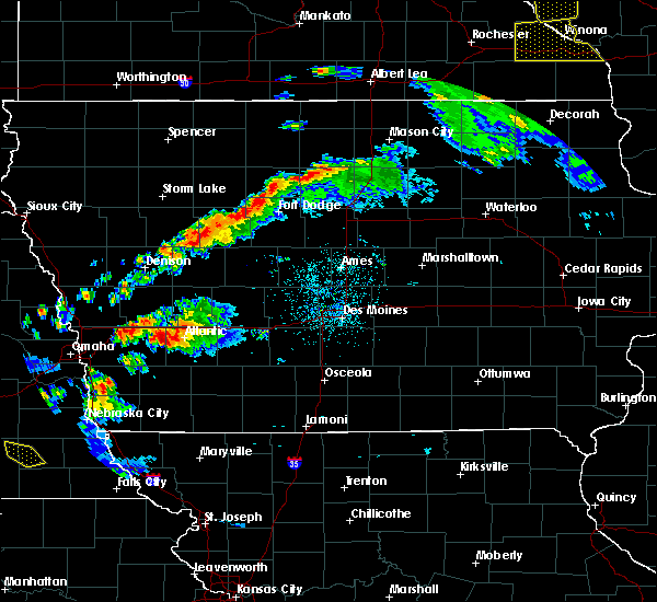 Radar Image for Severe Thunderstorms near Wiota, IA at 9/24/2019 8:50 PM CDT