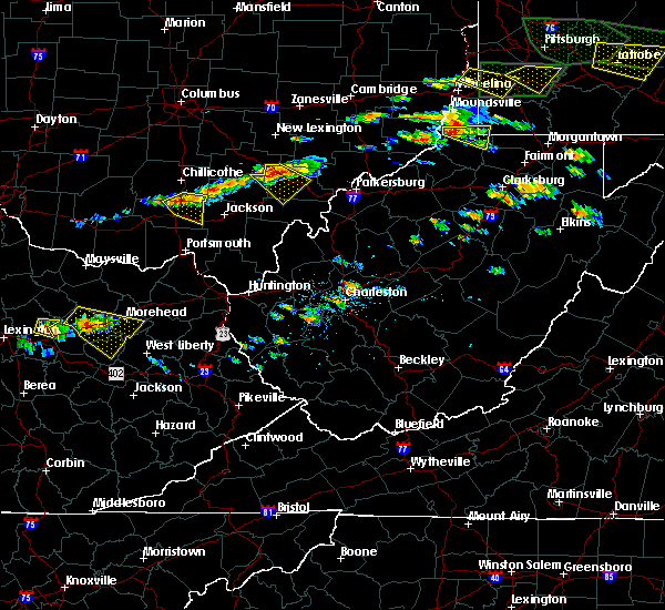 Radar Image for Severe Thunderstorms near Albany, OH at 6/23/2015 3:21 PM EDT