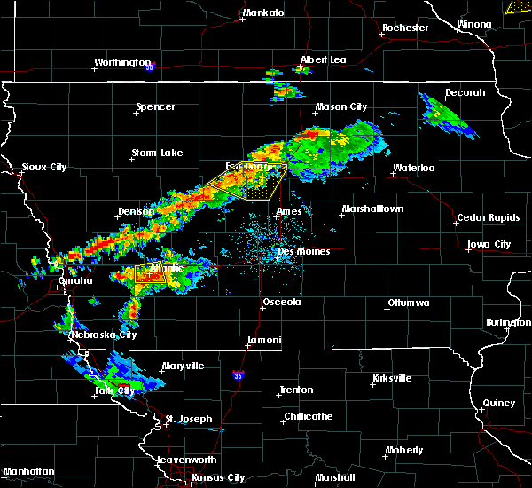 Radar Image for Severe Thunderstorms near Wiota, IA at 9/24/2019 9:24 PM CDT