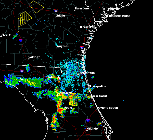 Radar Image for Severe Thunderstorms near Interlachen, FL at 6/23/2015 3:26 PM EDT