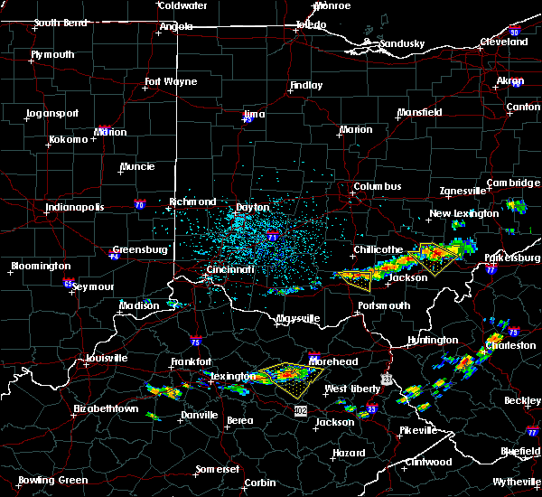 Radar Image for Severe Thunderstorms near Piketon, OH at 6/23/2015 3:27 PM EDT