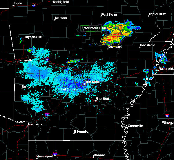 Radar Image for Severe Thunderstorms near Melbourne, AR at 9/25/2019 4:02 PM CDT