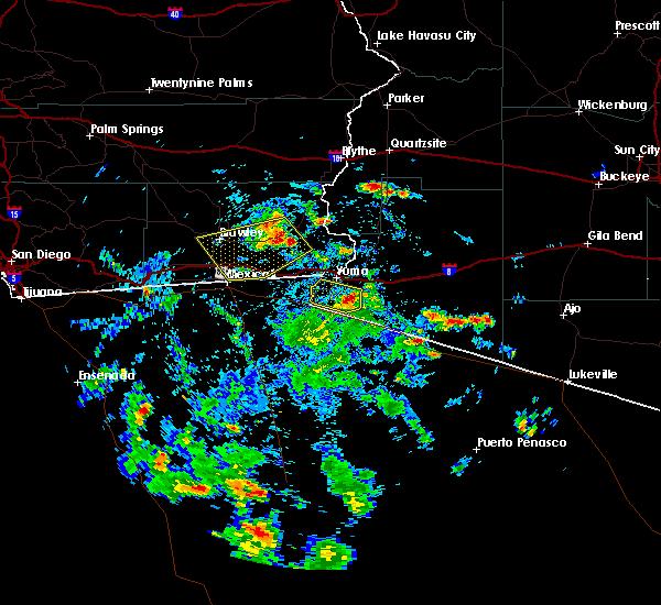 Radar Image for Severe Thunderstorms near Holtville, CA at 9/25/2019 2:16 PM PDT