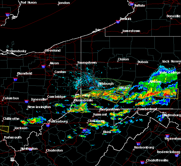 Radar Image for Severe Thunderstorms near Ellsworth, PA at 6/23/2015 3:38 PM EDT