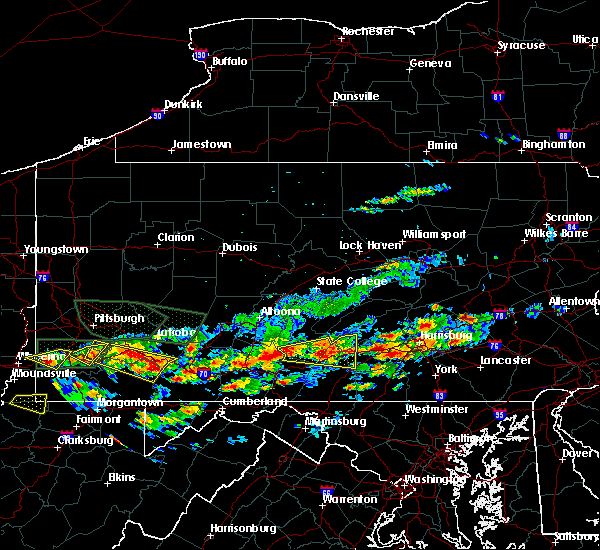 Radar Image for Severe Thunderstorms near Rutherford, PA at 6/23/2015 3:43 PM EDT