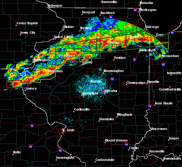 Radar Image for Severe Thunderstorms near Dunfermline, IL at 9/27/2019 7:56 PM CDT