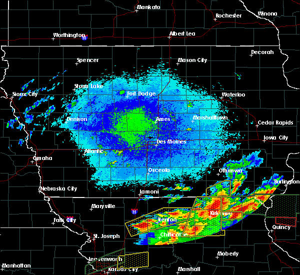 Radar Image for Severe Thunderstorms near Pulaski, IA at 9/27/2019 8:36 PM CDT