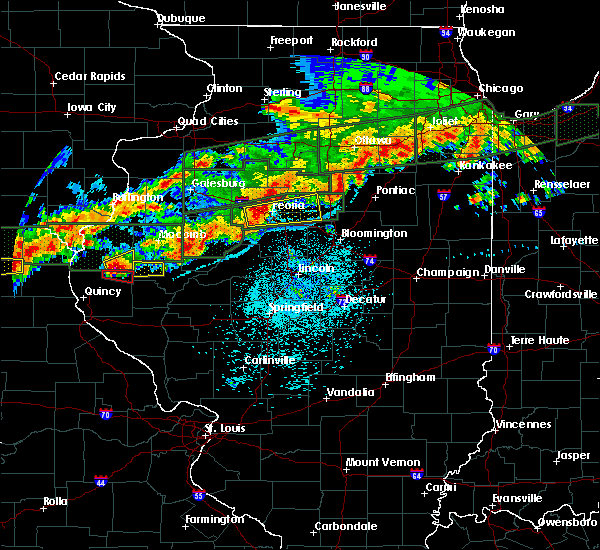 Radar Image for Severe Thunderstorms near Peoria, IL at 9/27/2019 8:49 PM CDT