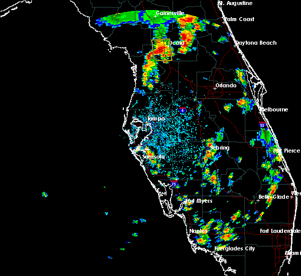 Radar Image for Severe Thunderstorms near Silver Springs Shores, FL at 6/23/2015 3:51 PM EDT