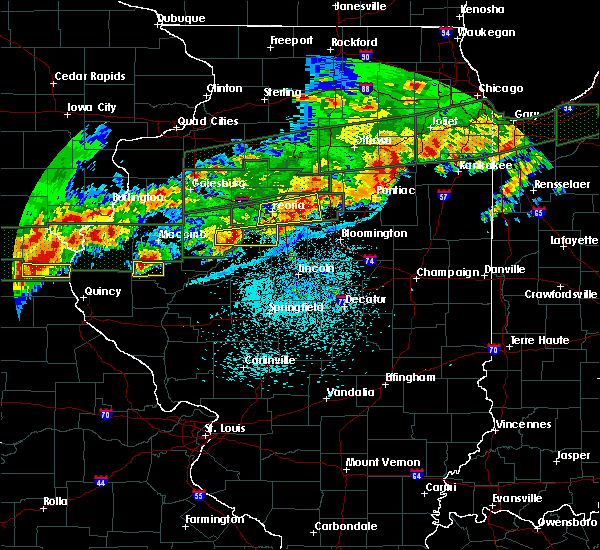 Radar Image for Severe Thunderstorms near Peoria, IL at 9/27/2019 9:04 PM CDT