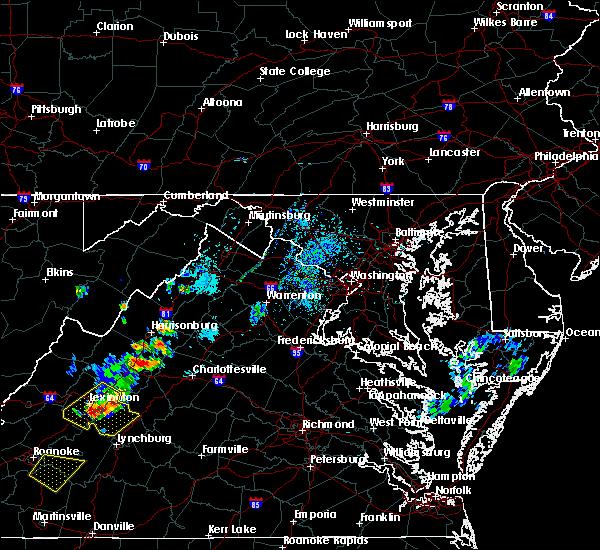 Radar Image for Severe Thunderstorms near New Hope, VA at 9/28/2019 2:55 PM EDT