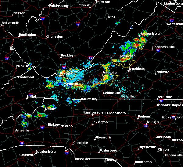 Radar Image for Severe Thunderstorms near Lovingston, VA at 9/28/2019 2:58 PM EDT