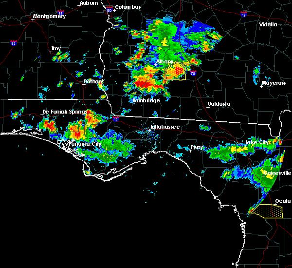 Radar Image for Severe Thunderstorms near Pelham, GA at 6/23/2015 4:08 PM EDT
