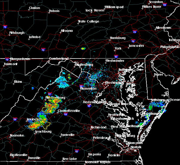 Radar Image for Severe Thunderstorms near Grottoes, VA at 9/28/2019 3:27 PM EDT
