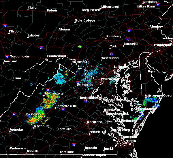 Radar Image for Severe Thunderstorms near Crimora, VA at 9/28/2019 3:29 PM EDT